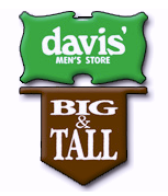 15% Off from Davis Mens Store