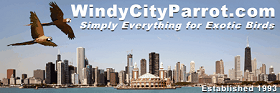 15% Off 15 at Windy City Parrot