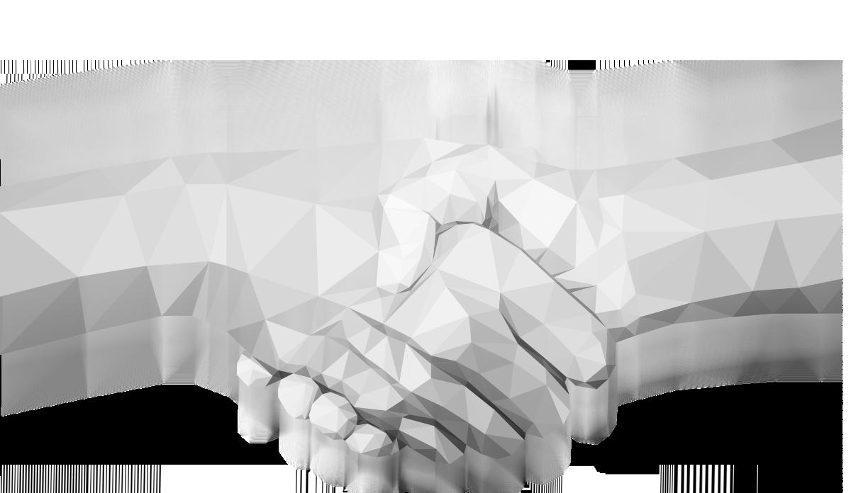 Polygonal Hand Shake