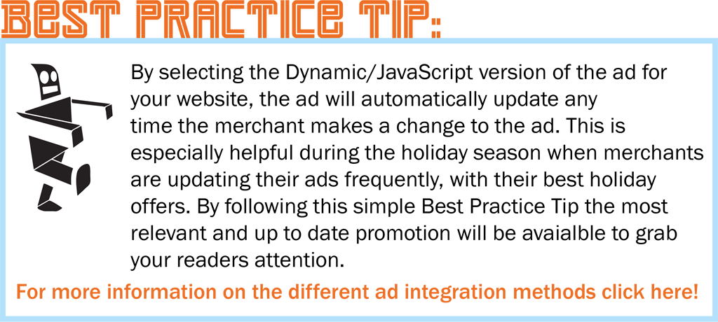Holiday Ads - Best Practice Tip