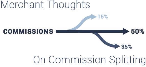 Merchant Thoughts On Commission Splitting