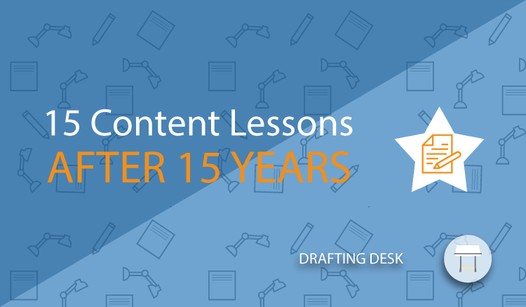 15 Content Lessons In 15 Years