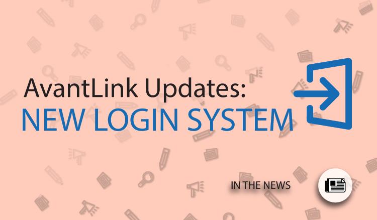 New Login System on AvantLink