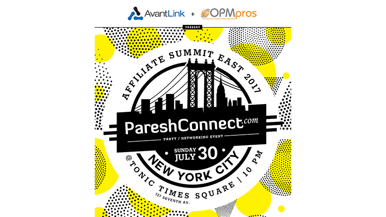 AvantLink & OPMpros will be hosting PareshConnect for ASE 2017