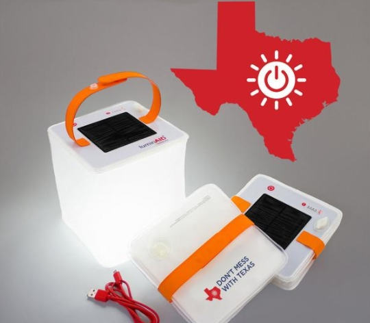 Luminaid PackLite Max USB Hurricane Harvey Relief Edition