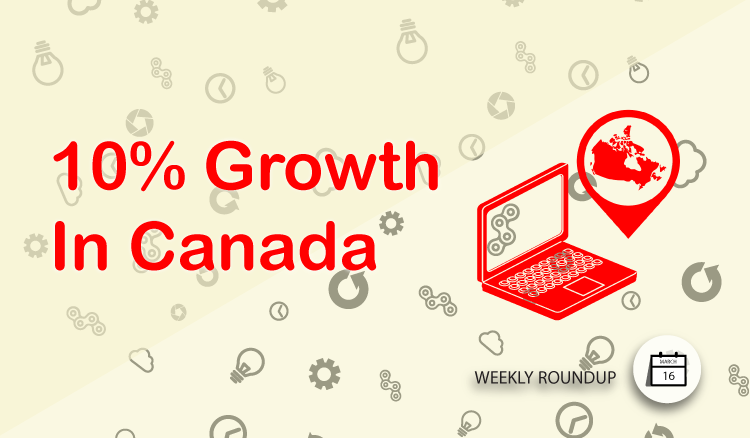 10% Ecomm Growth In Canada